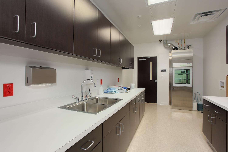 SCV Sterilization Station B