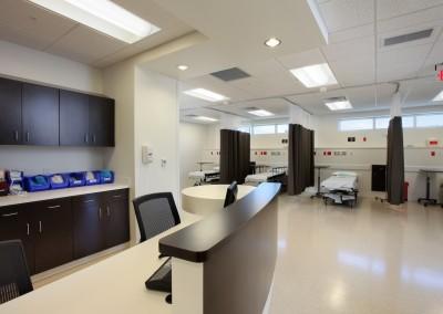SCV Recovery Unit Nurse's Station