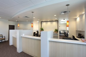Surgery Center of Viera - Reception Area Front Desk